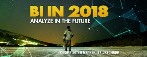BI conference: Analyze in the future – 2018-2020